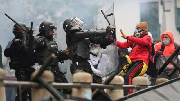 Читать из-за чего в Колумбии разгорелись массовые протесты