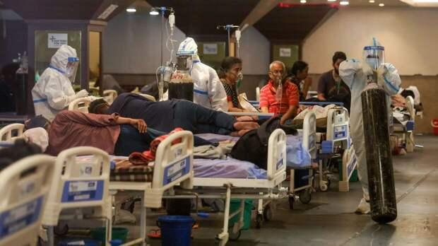 """Вспышка """"черной плесени"""" зарегистрирована в Индии на фоне ситуации с коронавирусом"""