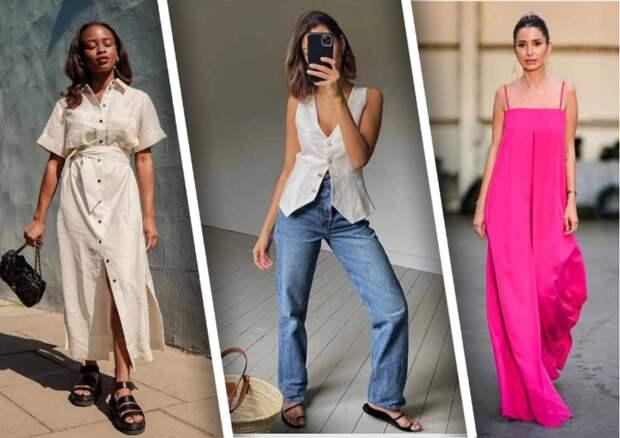 Самые модные летние образы: простые варианты сочетаний