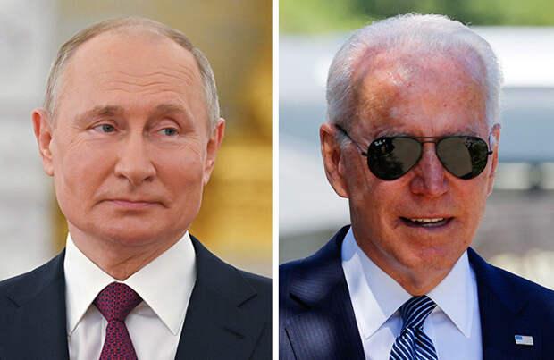 В ожидании «жесткого сигнала» от Байдена: что известно о намерениях президентов США и России?