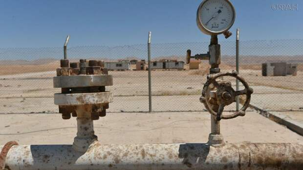 Нефтяные поля Сирии