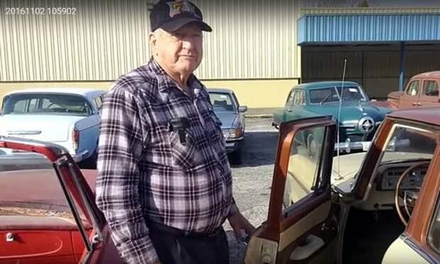 Бывший дальнобойщик решил продать свою коллекцию из 700 машин