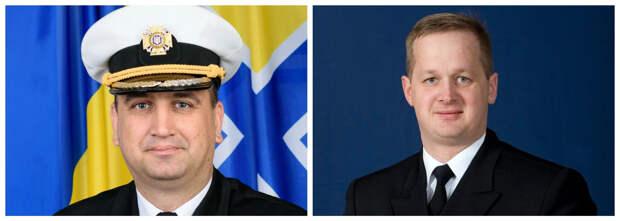 Адмирал Неижпапа перенимает опыт у коммодора Саски