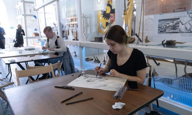 Тема для творчества одна— судостроение: вАрхангельске прошёл фестиваль мастер-классов «ФлотФест»