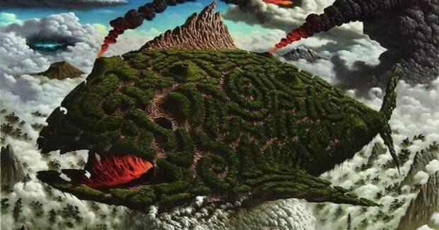 Вдохновляемый хаосом: жуткий сюрреализм Фульвио Ди Пьяцца