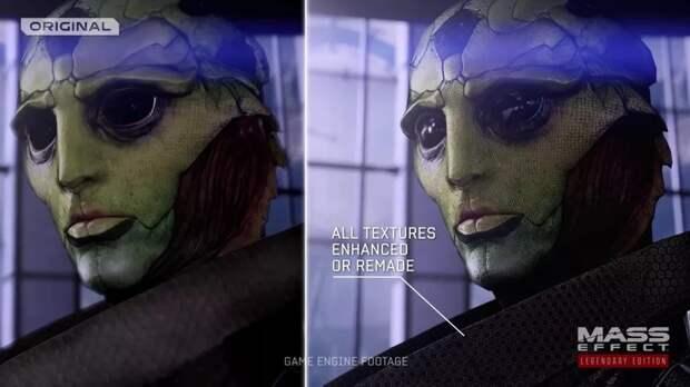 Новый трейлер Mass Effect Legendary Edition демонстрирует роскошную графику