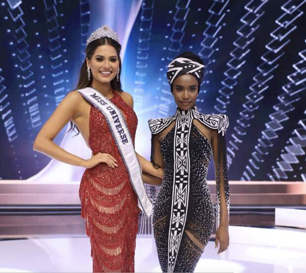 Победительницей конкурса «Мисс Вселенная» стала представительница Мексики