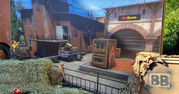 BetBoom разработала выставочный стенд в стиле карты Inferno для AdIndex City Conference 2021