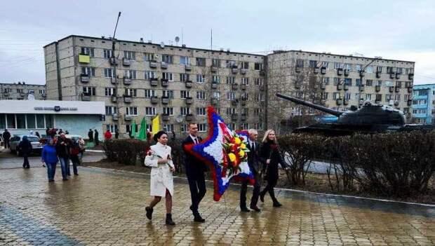 Работники Богучанской ГЭС приняли участие в праздновании Дня Победы