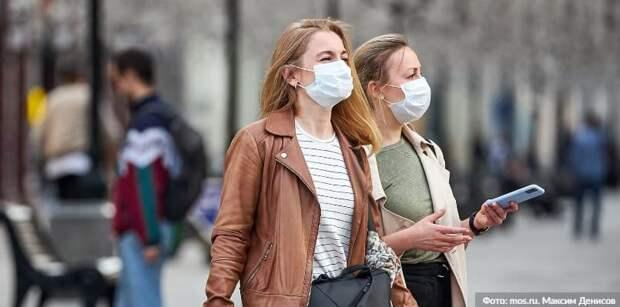Власти Москвы оштрафовали более 160 тыс нарушителей антиковидных мер Фото: М. Денисов mos.ru