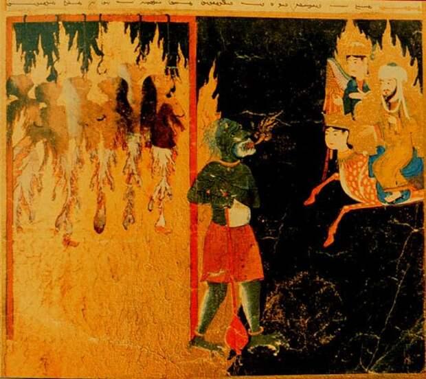 Пророк Мухаммад в аду видит муки женщин лёгкого поведения