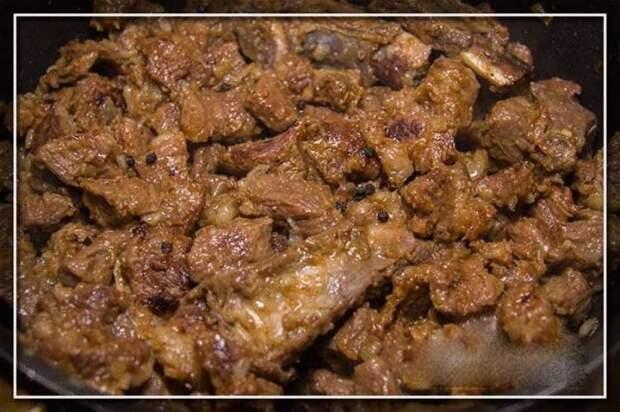 Рецепт мяса по-еврейски