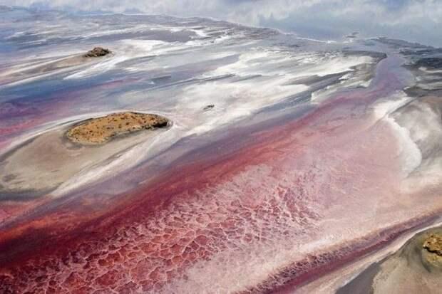 7 фото смертельного озера Натрон
