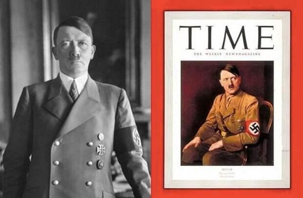 "Адольф Гитлер — человек года. 1938 год. журнал ""Time""(США)"