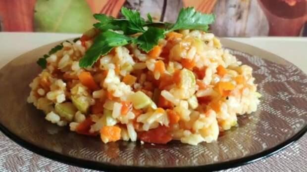 Кабачки с рисом: вкусный обед на каждый день 12