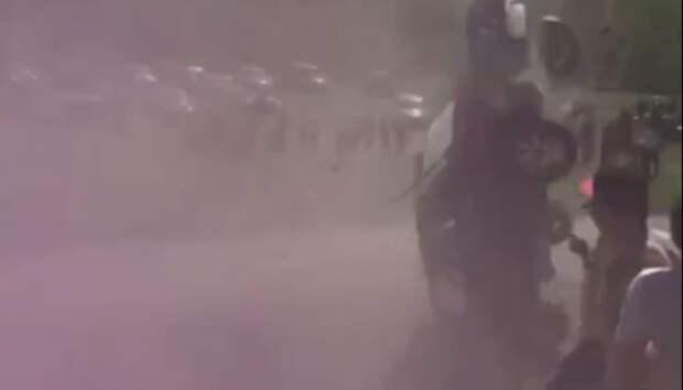 Автомобиль из Карелии перевернулся на ралли в Ленобласти