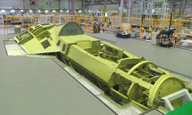 Истребитель KF-X на стадии сборки