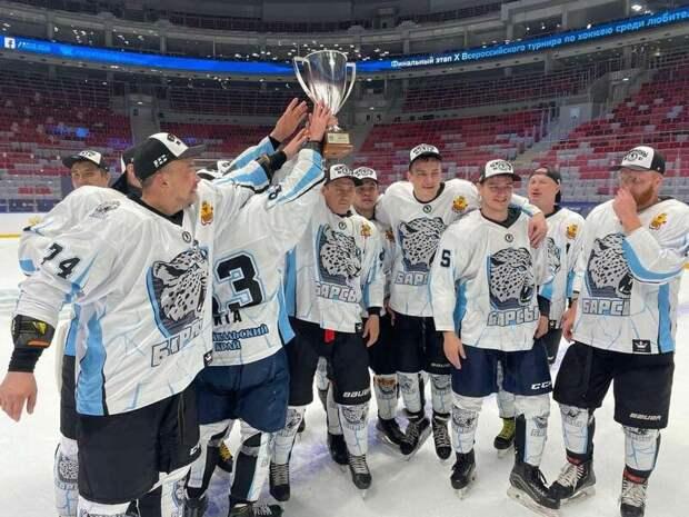 Хоккейная команда «Барсы» привезла Кубок «Лиги Надежды» в Читу
