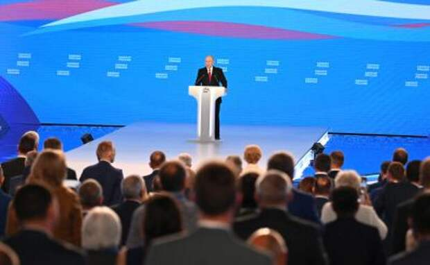 """Путин назвал первую пятерку списка """"Единой России"""" на выборах в Госдуму"""