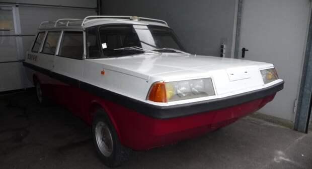 В июне месяце автомобиль прибыл в Германию и началась его реставрация. На данный момент автомобиль выглядит вот так: СССР, амфибия, самоделка