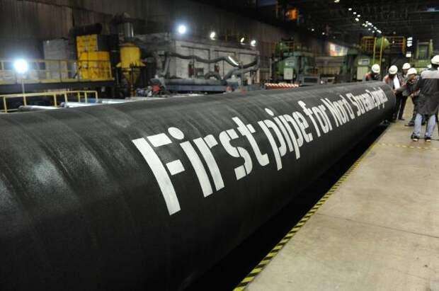 Оператор СП-2 сообщил о завершении укладки морской части нитки газопровода