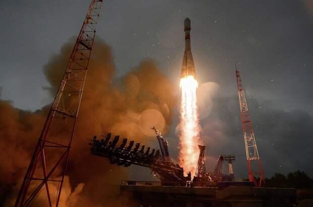 с космодрома Плесецк стартовала очередная  отечественная ракета-носитель - расчетом Космических войск ВКС проведен плановый, успешный запуск ракеты-носителя «Союз-2.1а»
