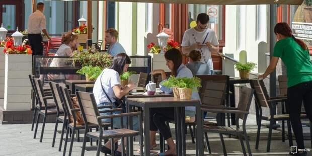 Двенадцать летних кафе откроется в Ховрине