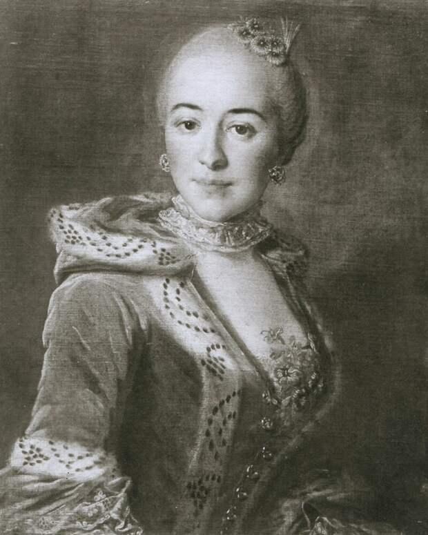 Пьетро Антонио Ротари «Портрет Прасковьи Румянцевой», дочь Марии Румянцевой