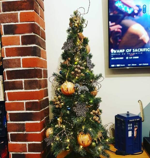 """Настольная елка """"Сафари"""" для сына @instagram.com/elena_ksenofontova_official/"""