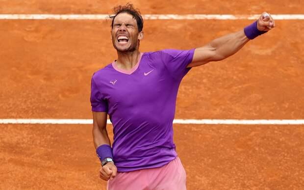 Надаль стал первым финалистом «Мастерса» в Риме