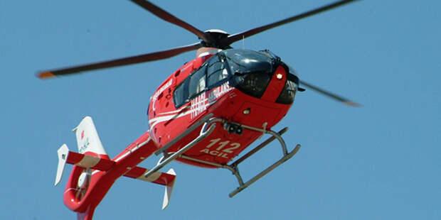 Число жертв крушения военного вертолета в Турции увеличилось до 11