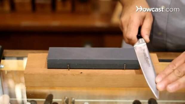 Как правильно точить нож на камне: пособие для новичков