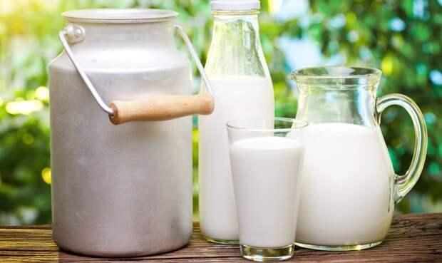 Три вида молока