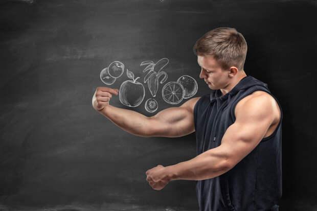 Спортивная диета для роста мышц — рацион питания для набора массы