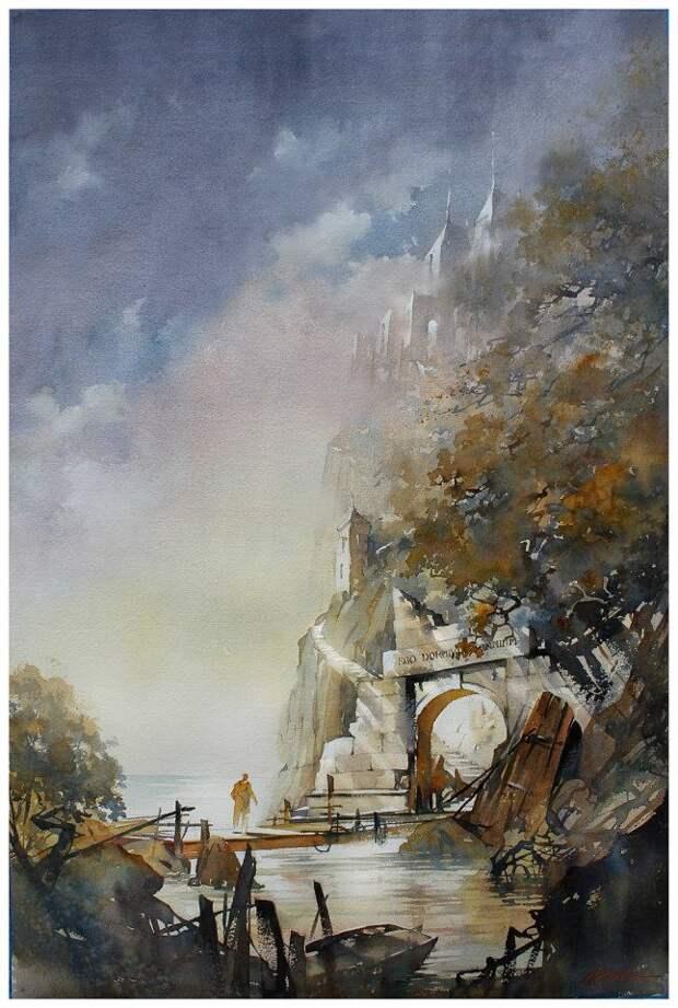 Призрачные пейзажи Томаса Шаллера