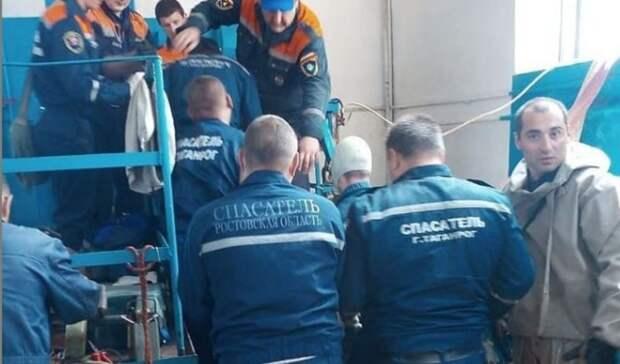 Под Таганрогом завершили спасательную операцию после утечки метана вколлекторе