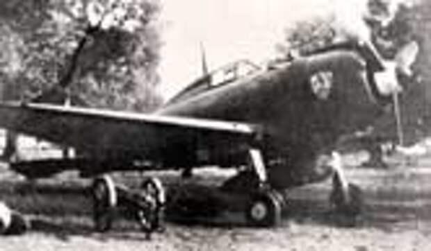 Итальянский самолет Reggiane Re.2002