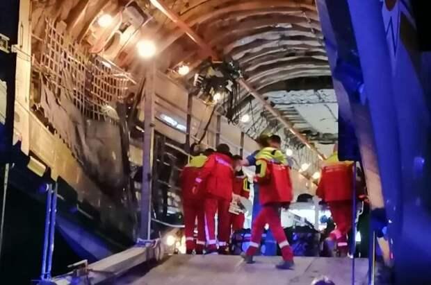 Борт с семью пострадавшими в ДТП на Ставрополье вылетел в Москву