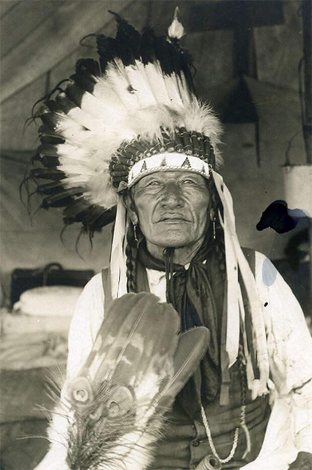 Индеец из Западной Оклахомы, 1915 год