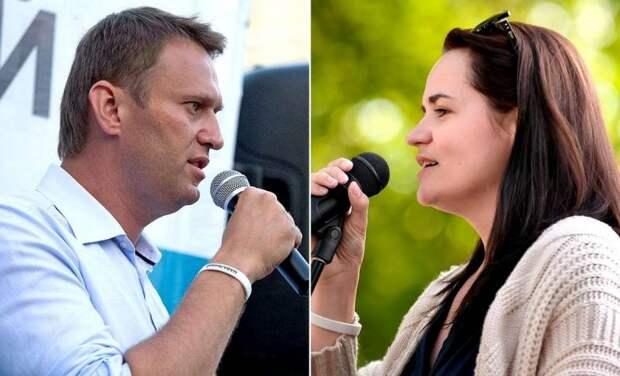Пару слов про Навального и Тихановскую