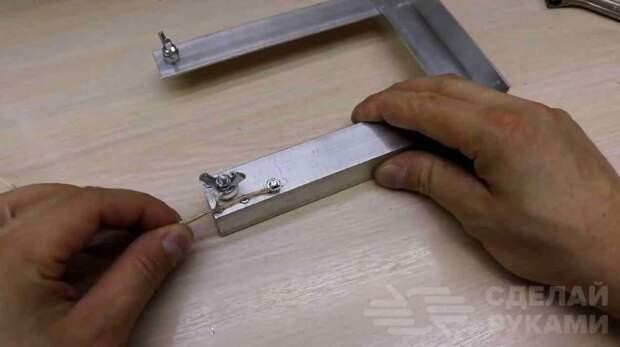 Самодельный станок для резки вспененных материалов