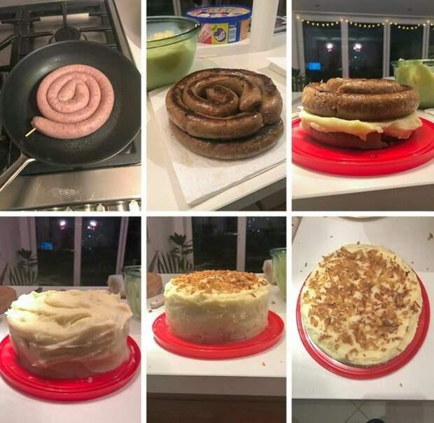Торт здорового человека