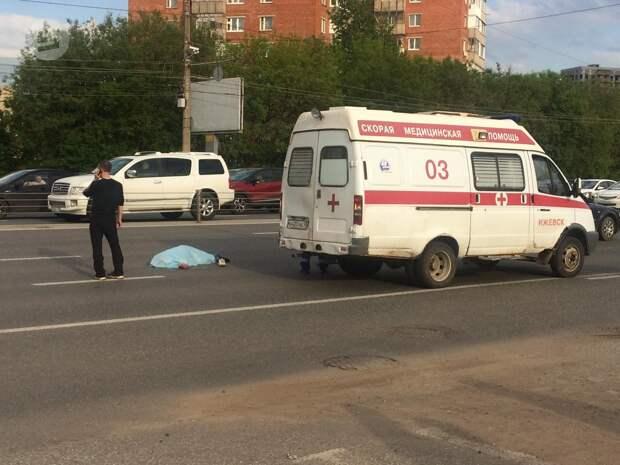 Женщина-пешеход погибла в ДТП на улице Удмуртской в Ижевске