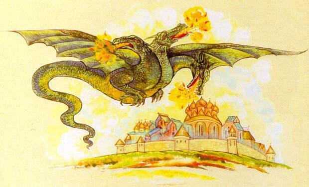 Самые знаменитые драконы из древних легенд и преданий