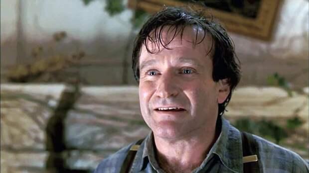 Робин Уильямс ушел из жизни в 63 года. Кадр из фильма «Джуманджи»