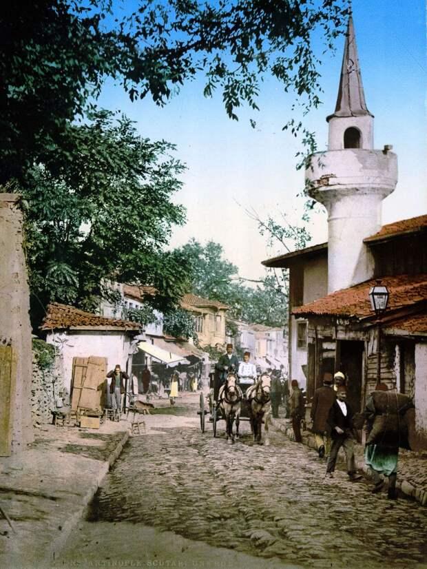 Цветные открытки Константинополя 16