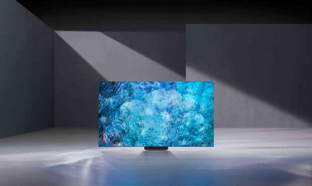 Samsung представила флагманские телевизоры Neo QLED на панелях Quantum Mini LED