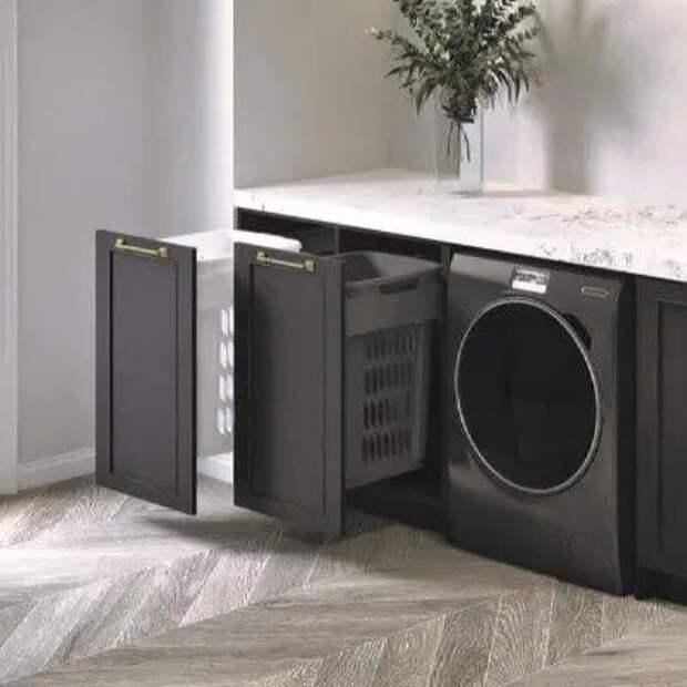 13 способов незаметно спрятать стиральную машину в ванной