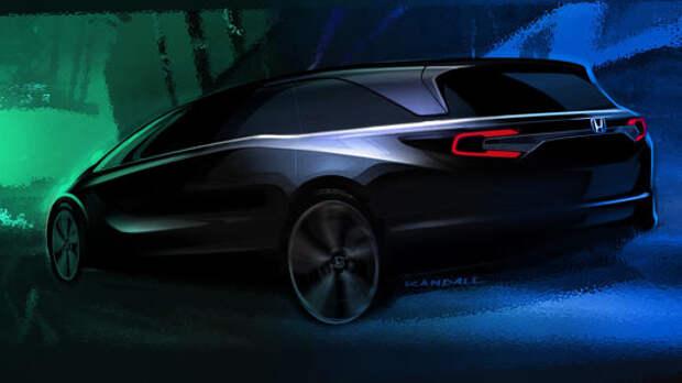 Самый красивый в сегменте: Honda разжигает интерес к новому Одиссею