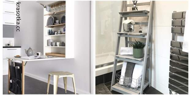10 способов экономии пространства в квартире